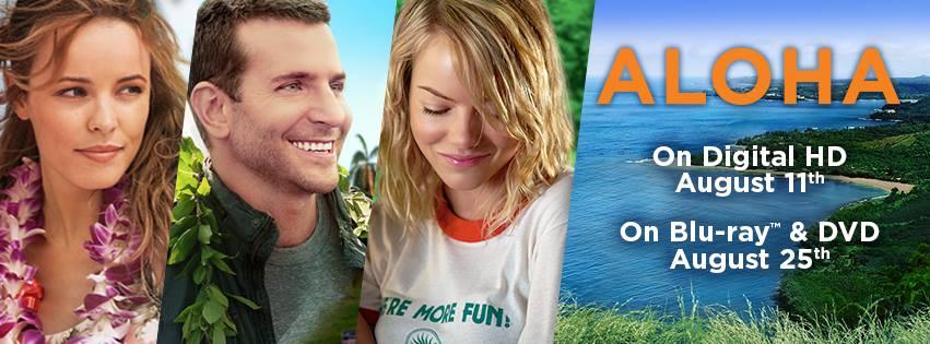 """Aloha"" Blu-Ray, DVD & Digital HD Release Dates"