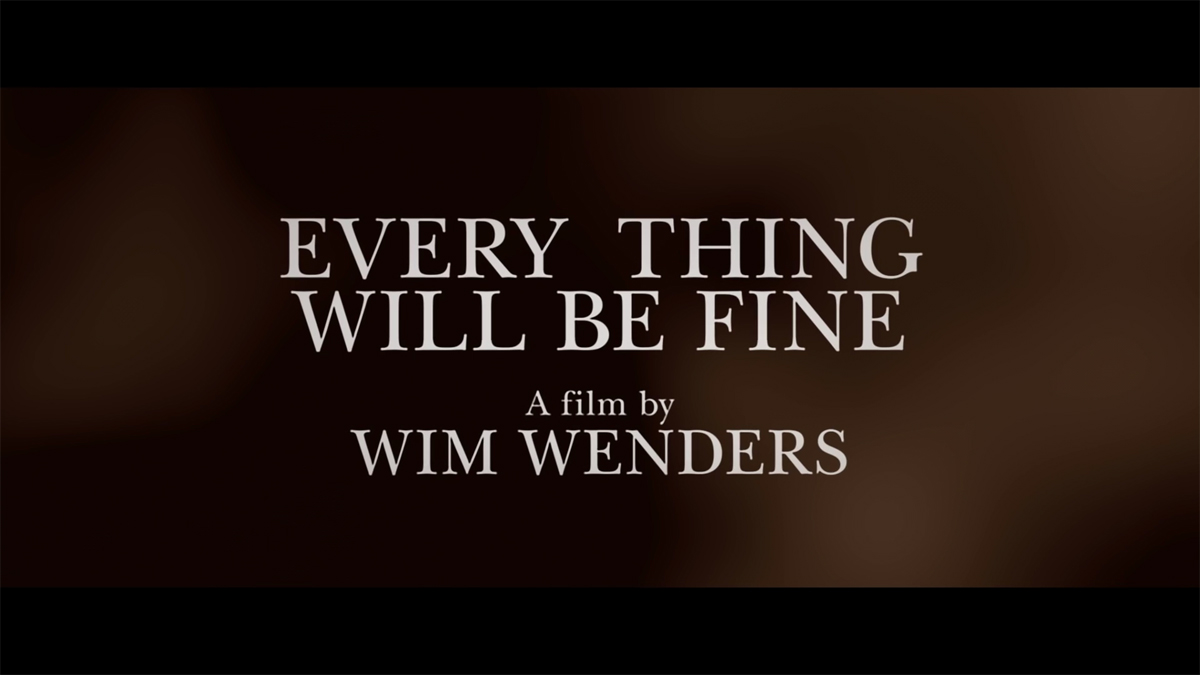 """First """"Every Thing Will Be Fine"""" US Trailer"""