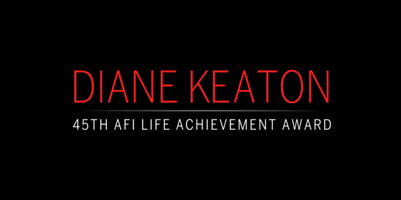 Reminder: AFI Diane Keaton Special Airs Tonight!